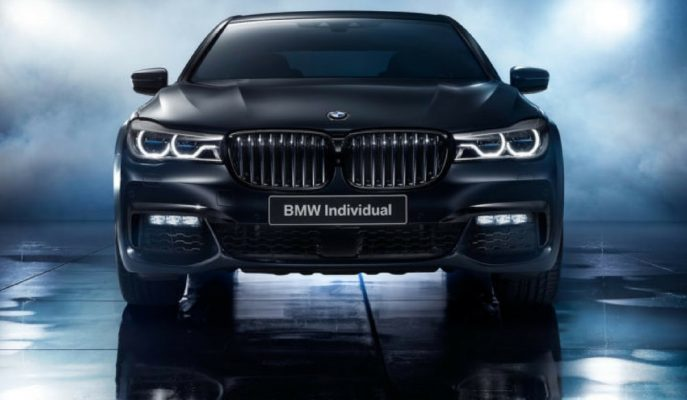 BMW'nin Individual Ekibi Rusya'ya Özel 7 Serisi Black Ice Edition Üretecek!