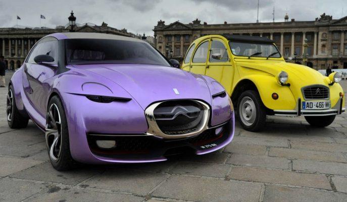 """Citroen'in Bugatti Tarzı Küçük Konsepti """"Revolte"""""""