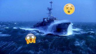 Dev Dalgalara Maruz Kalan 5 Geminin Yaşadığı Korku Dolu Anlar