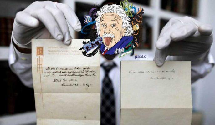 Einstein'ın 95 Yıllık Mutluluk Formülü Milyon Dolarlık Fiyata Satıldı!