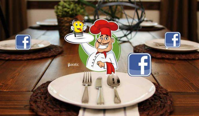 Facebook'un Yeni Hizmeti: Yemek Siparişi!