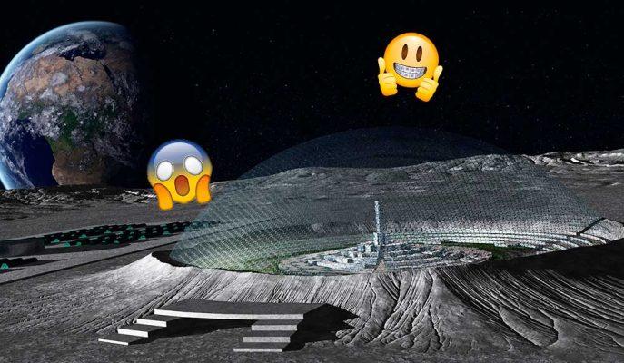 Avrupa Uzay Ajansı'ndan Çılgın Plan: Gelecekte İnsanoğlu Ay'a Taşınabilir mi?