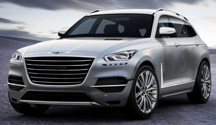 """Genesis Premium SUV Sınıfına 2019'da """"GV80"""" ile Giriş Yapıyor"""