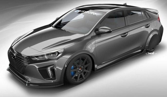 Hyundai Ioniq HyperEconiq SEMA'yı Gösterdi!