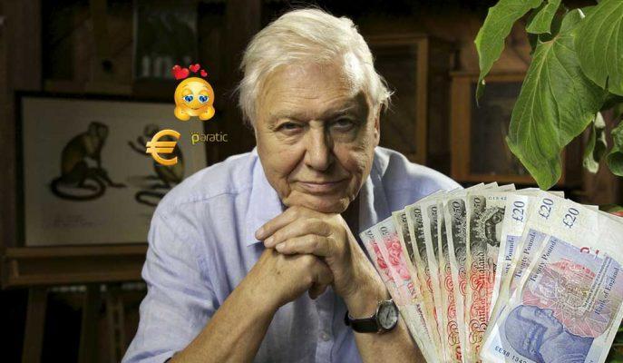 İngilizler Yeni Banknotlarda David Attenborough'un Olmasını İstiyor!