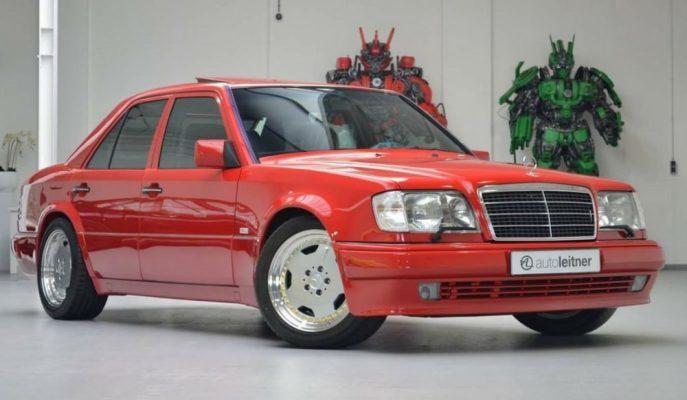 "Japonya'da Satılığa Çıkartılan Kusursuz 1995 Model ""Mercedes E60 AMG"""