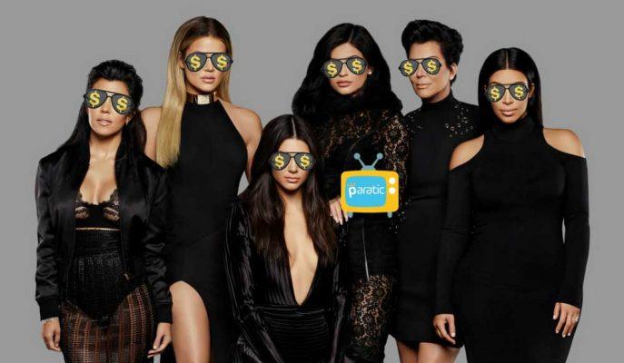 Kardashian Ailesi 150 Milyon Dolara 5 Sezon Daha Ekranlarda!
