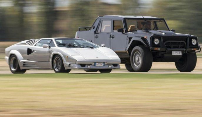 "Lamborghini Tarihinin ilk SUV Modeli ""LM002"""
