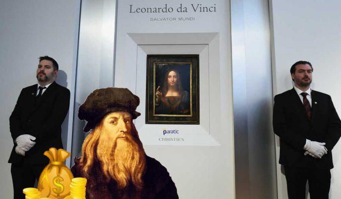 Leonardo da Vinci'nin Gizemli Tablosu Salvator Mundi için Astronomik Fiyat!