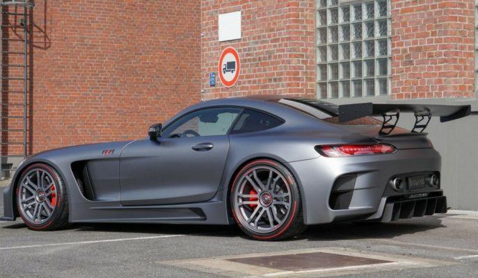 Mercedes AMG GT\'nin IMSA ile Devasa Kanatlı \