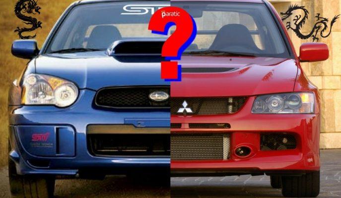 Mitsubishi EVO vs Subaru Impreza: Hangisi?