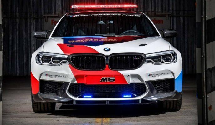 MotoGP Pistlerinin Sorumlusu Artık Yeni BMW M5!