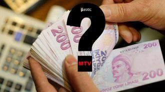 MTV'ye Gelen Zamdan Sonra Devletin Kasasına Girecek Miktar Belli Oldu!