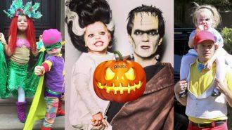 Cadılar Bayramı için Fikir Arayanlara Hollywood'un Ünlü Ailesinden Eğlenceli Konseptler