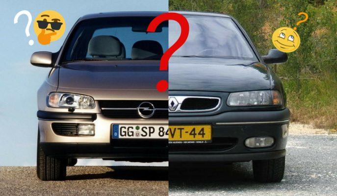 Opel Omega vs Renault Safrane: Hangisi?