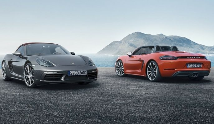 Porsche'nin İki Süper Modeli 718 Boxster ve Cayman'a GTS Aşısı!
