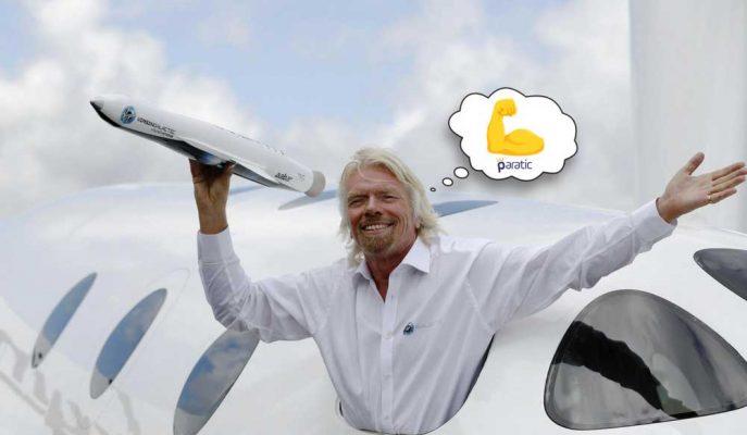 Richard Branson Cevaplıyor: Her Şeyini Kaybetse Ne Yapardı?
