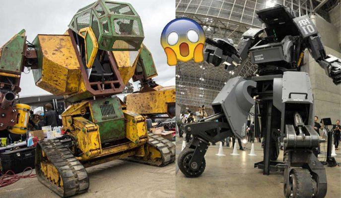 Transformers Gerçek Oluyor: İşte Robot Savaşları