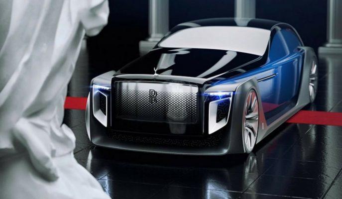Rolls Royce Exterion Adında Fütüristik Konsept Çizimini Yayınladı