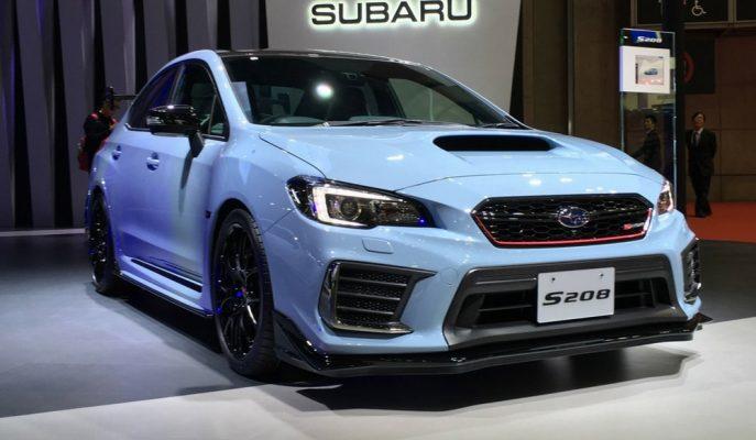 Subaru Tokyo'da 450 Adet Sınırlı Impreza WRX-STI S208'i Tanıttı!