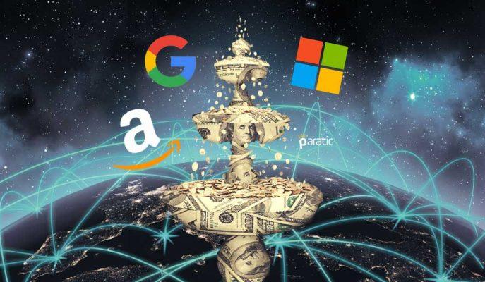 ABD'nin Teknoloji Devleri Para Basmaya Devam Ediyor!