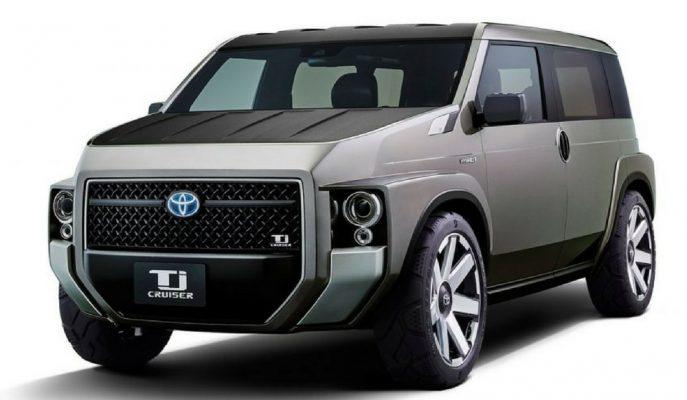 "Toyota'nın VAN-SUV Karışımı Aracı ""Tj Cruiser"""