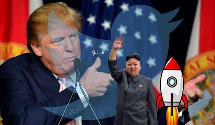 Trump'ın Yeni Bomba Tweeti: Küçük Roket Adam!