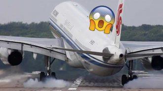 Yolcu Uçaklarının Havaalanlarına Yansıyan Tehlike Dolu 10 İniş Görüntüsü