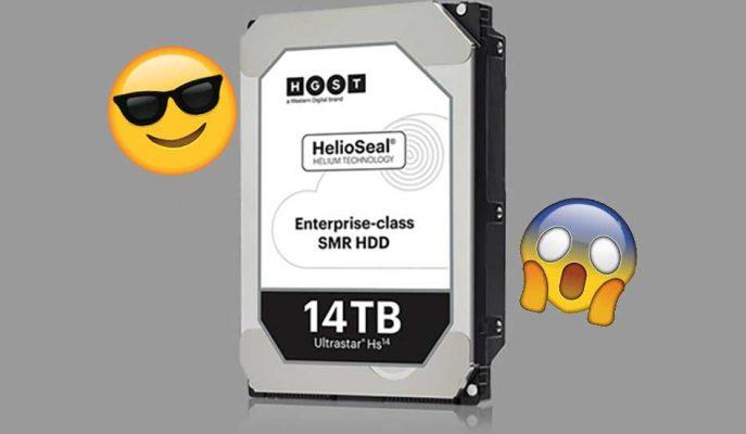 Western Digital'den 14 TB'lık Devasa Boyuta Sahip Sabit Disk!