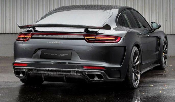2017 Yeni Porsche Panamera Stingray GTR: 25 Adet Sınırlı Karbon Sedan!