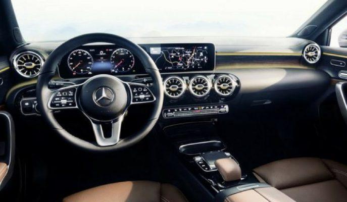 2018 Mercedes A Serisine Yapılabilecek En Fütüristik İç Mekan Yapılmış!