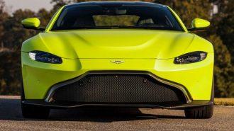 2018 Yeni Aston Martin Vantage: Audi R8 ve Lexus LC'yi Biraz Terletecek!