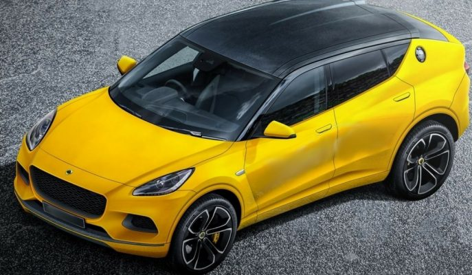 """2020'de Üretilmesi Planlanan """"Lotus SUV"""" Bu Şekilde Gözükebilir!"""