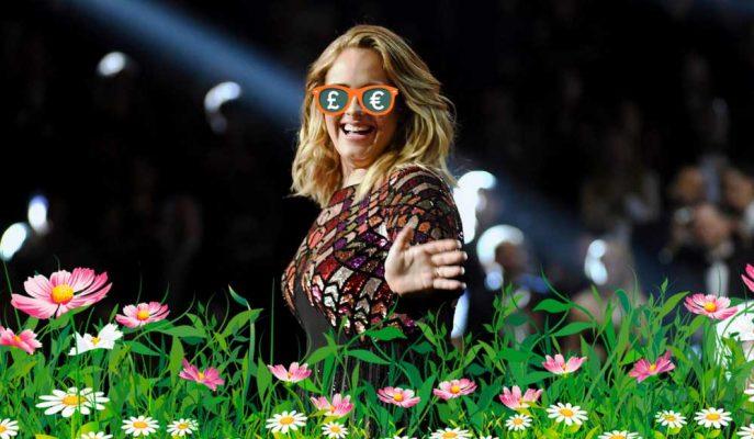 Milyonlar Teklif Edilmesine Rağmen Adele Bahçesinden Vazgeçmedi!