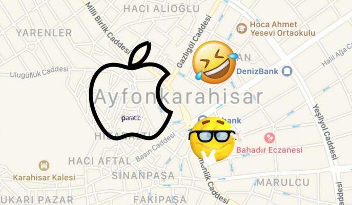 Apple'ın Komik Harf Hatası: Afyon Ayfon Oldu!