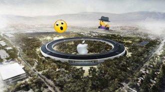 Apple Park'ın Son Haline Bir de Drone Kamerasından Bakın!
