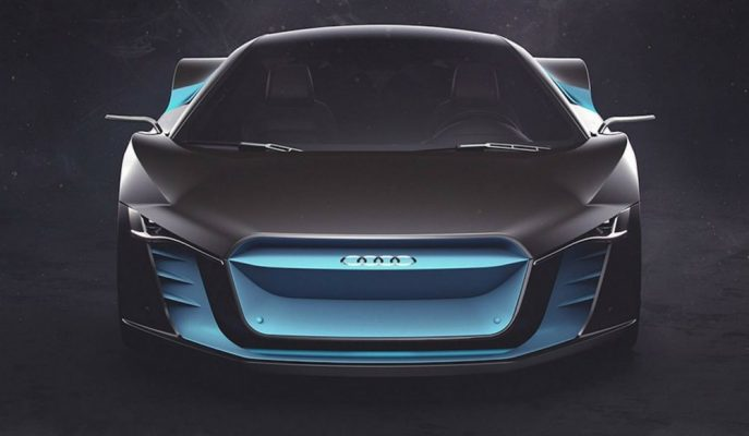 """Audi'nin Yeni """"Atom"""" Konsepti Geleceğin R8'i Olabilir mi?"""