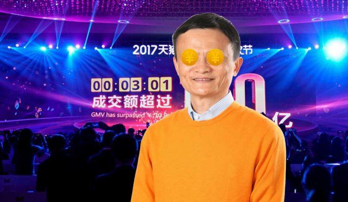 Alibaba Bekarlar Günü Alışveriş Çılgınlığında Rekor Satış Yaptı!