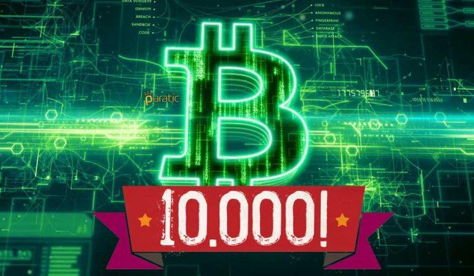 Bitcoin Bazı Borsalarda 10 Bin Dolara Selam Çaktı!