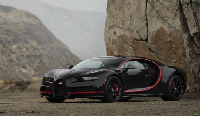 """Bugatti'nin Amerika için Yaptığı Chiron """"Zoro Maskesi"""" Taktı!"""