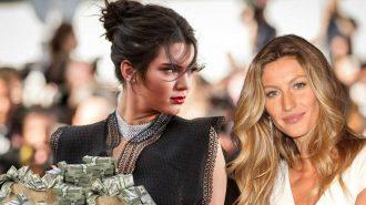 """Gisele Bündchen'in """"En Çok Kazanan Model"""" Unvanı 15 Yıl Sonra Kendall Jenner'da!"""