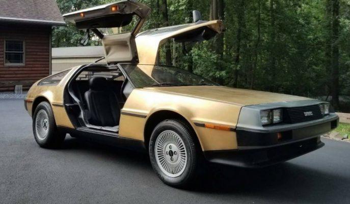 Ender Bulunan Altın Kaplama DeLorean DMC-12'nin Fiyatı Şaşırtıcı!