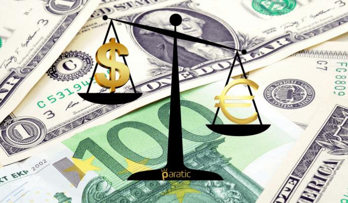 Euro/Dolar Son 4 Ayın En Düşüğünü Gördü!