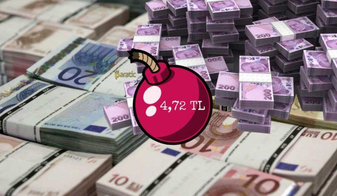 Euro Haftayı Rekorla Kapattı! Yeni Zirve 4,72 Lira
