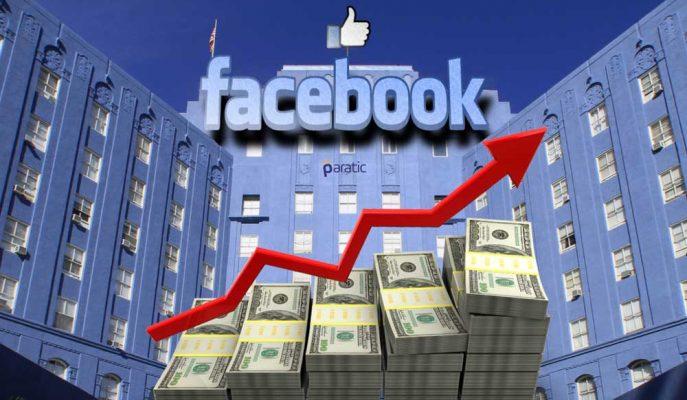 Facebook'tan Rekor Kar Artışı!