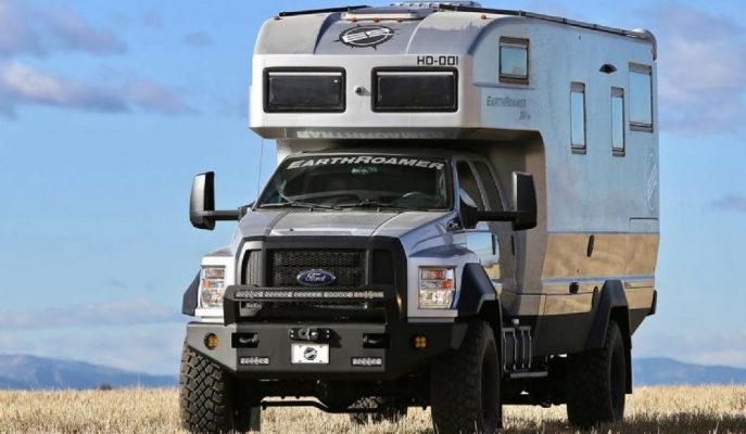 Ford F550 Earthroamer XV-HD: 1.5 Milyon $'lık Ultra Lüks Karavan!