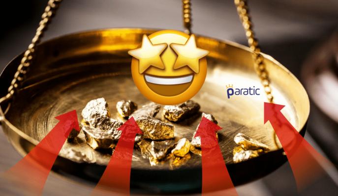 Gram Altın 164,2 Lira ile Tüm Zamanların Zirvesini Gördü!