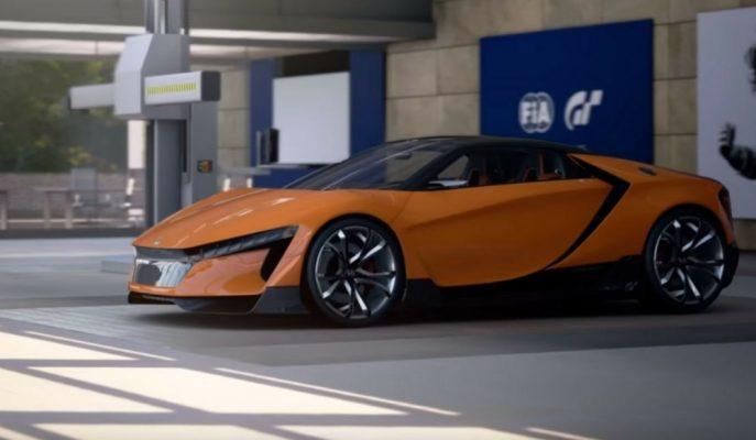 Honda Gran Turismo Concept: Geleceğin NSX'i Şekilleniyor!