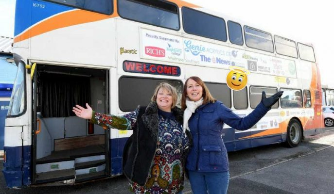 İki Katlı Otobüsten Barınağa: Evsizler için Yapılan Etkileyici Çalışma!