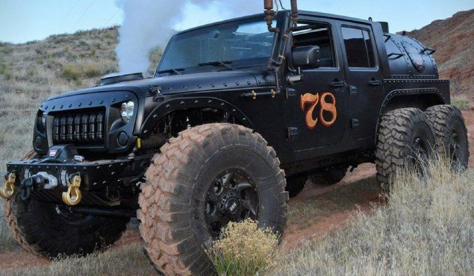 Jeep Wrangler TomaHawk'tan Sonra Loco Hauk JK 6X6'ya Dönüştürüldü!